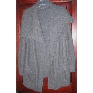 Vince M Cardigan Sweater Coat Open Alpaca Pockets